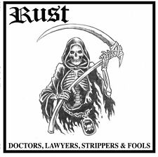 RUST Doctors, Lawyers, Strippers & Fools NEW Gatefold LP Black Vinyl Oi! Punk