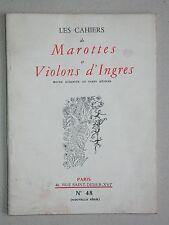 Marottes et Violons d'Ingres 48, 1958, monnaie française numismatie Papous