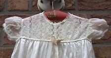 Taufkleid Taufkleidchen Taufe Baby Seide England 1900 Jugendstil antik vintage