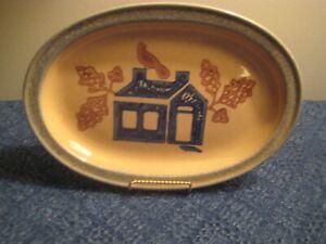 Pfaltzgraff America Small Platter & 2 Luncheon Plates