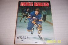 1972 73 NHL HOCKEY Guide 528 Pages BUFFALO SABERS Rick MARTIN Ken DRYDEN