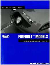 2007 Buell Firebolt Motorcycle Service Manual : 99493-07Y