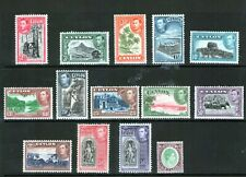 CEYLON 1938 set lightly hinged unchecked.