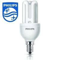 Philips Genie Energy Saving Light Lamp Bulb Small Screw Cap SES E14 8w/40w #2422
