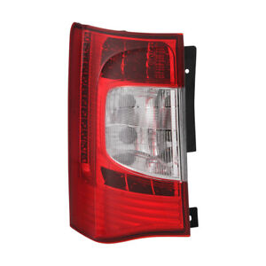 Jdragon Fit Chrysler 2011-16 Town & Country Tail Light LH/Driver Side (LED Type)