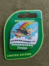 Disney's Tinker Bell Think Green Clean Air Commuting Limited Edition Pin