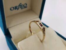 585 Gelbgold Ring CHRIST Diamant/Brillant Rubin Ring