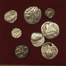 Lot of ancient Greek fractional silver coins - each order is 1 Coin