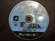 Dot .hack INFECTION (Sony PlayStation 2, 2003)DISC ONLY