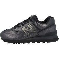 New Balance WL 574 SOH Schuhe Women Sneaker Turnschuhe black metallic WL574SOH