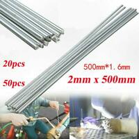 50pcs Easy Melt Welding Rods Low Temperature Aluminum Wire Soldering Brazing Kit