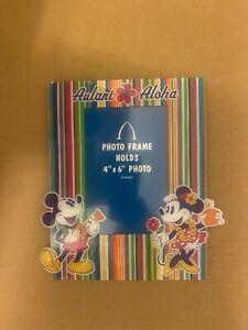 Aulani Disney Minnie and Mickey photo frame