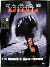 Dvd Blu Profondo - ed. Snapper di Renny Harlin 1999 Usato