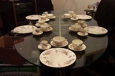Vintage Royal Worcester Bone China Dinnerware Set 54 Pieces Extra Nice EXC. Cond