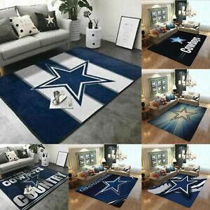 Dallas Cowboys Rectangle Area Rugs Living Room Bedroom Carpet Non-slip Floor Mat