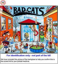 1989 Williams Bad Cats Pinball Rubber Ring Kit