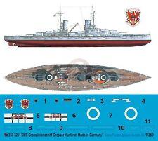 Peddinghaus 1/350 SMS Grosser Kurfurst German Battleship WWI Markings 3201