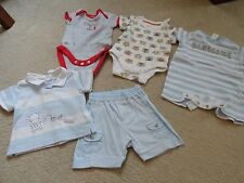 baby boy bundle - designer berlingot outfit and next/gap vests - newborn