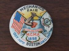 """campaign pin pinback button political badge election LOCAL ADVERTISING 1.25"""""""