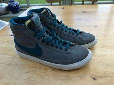 Nike Da Donna Grigio Scarpe Da Ginnastica UK 5 SCARPE ALTE SPORT BASKET Lacci
