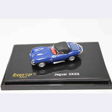HO 1:87 RICKO 38723 Jaguar XKSS - Top Up - Blue