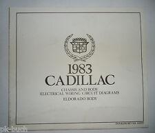 Elektrischer Schaltplan / Wiring Diagram Cadillac Eldorado Body Stand 1983