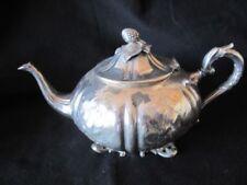 Original Antique Silverplate Tea Pots