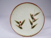 """Vintage Otagiri Bittersweet Stoneware Dinner Plate Speckle Embossed Japan 9-3/4"""""""