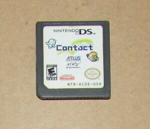 Contact (Game Only) Nintendo DS Fast Shipping! Authentic