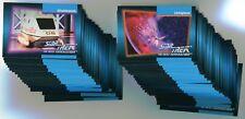 STAR TREK THE NEXT GENERATION Impel 1992 Card SET!! NM/M Missing #28, 113