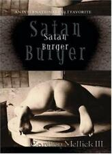 Satan Burger III Mellick Carlton Libro In Inglese