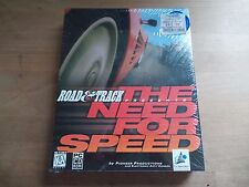 RARE NEW Road & Track Presents: The Need for Speed (PC) 1995 - Big Box - Not SE