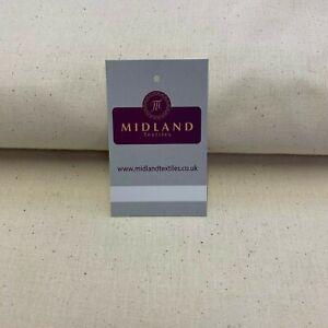 100% cotton Natural Calico Craft Medium Weight Fabric 150cm M38
