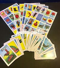 New Loteria Mexican Mexicana Bingo 10 playing boards 54 cards Game
