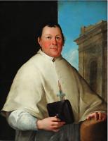 Anonym - Edler Domherr (?) - Öl/Leinwand - um 1780/10