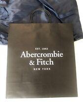 Abercrombie & Fitch Empty Gift Paper bag  Colour Black Size S/M