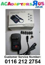 EU 3V/4.5V/5V/6V/7.5V/9V/12V 30W Universal AC-DC Adaptor Power Supply + 6 Tips