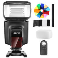 Neewer TT560 Flash Speedlite with Color Filters Remote Control for Canon Nikon