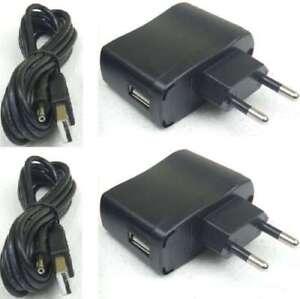 2x Adam Hall SLED PS USB - 5V Universal Netzteil 800mA für Schwanenhalslampen