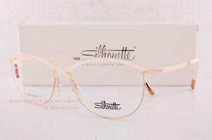 New Silhouette Eyeglass Frames URBAN FUSION FULLRIM 1574 6056 Matte White