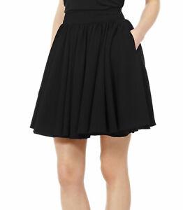 Reiss Women's Black Alana Full Gathered Skirt Size 14 Worn Once - Mint