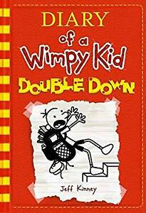 Double Down Diary of a Wimpy Kid #11 Paperback Jeff Kinney
