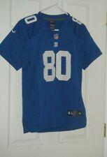 New York Giants NFL Blue Victor Cruz 80 Nike Kids Jersey Size Large Used