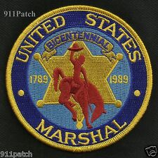 United States Marshal BICENTENNIAL 1789 - 1989 Law Enforcement Police Patch