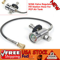 Valve Regulator Fill Station Hose For PCP Air Tank M18x1.5 4500Psi