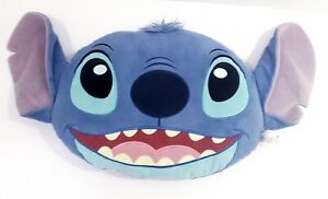 Disney Store Stitch Big Face 3d Cushion character lilo and stitch pillow