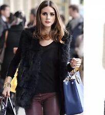 Women Faux Fur Body Warmer Vest Waistcoat Gilet Sleeveless Jacket Coat Outwear
