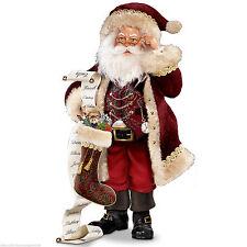 Thomas Kinkade St. Nicholas, Naughty Or Nice Santa Figurine By Bradford Editions