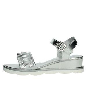 Sandalo Donna Cinzia soft Pelle Argento PF18951-L