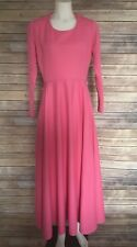 Vintage Pink Maxi Dress by Elegant Miss of California Size S/M